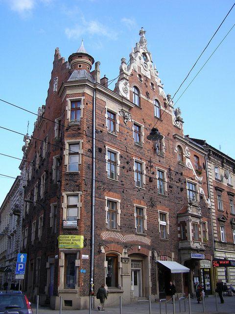 Krakow Ul Karmelicka 35 Pod Pajakiem Budowa 1889 Architekt Teodor Marian Talowski Public Space Krakow Street View