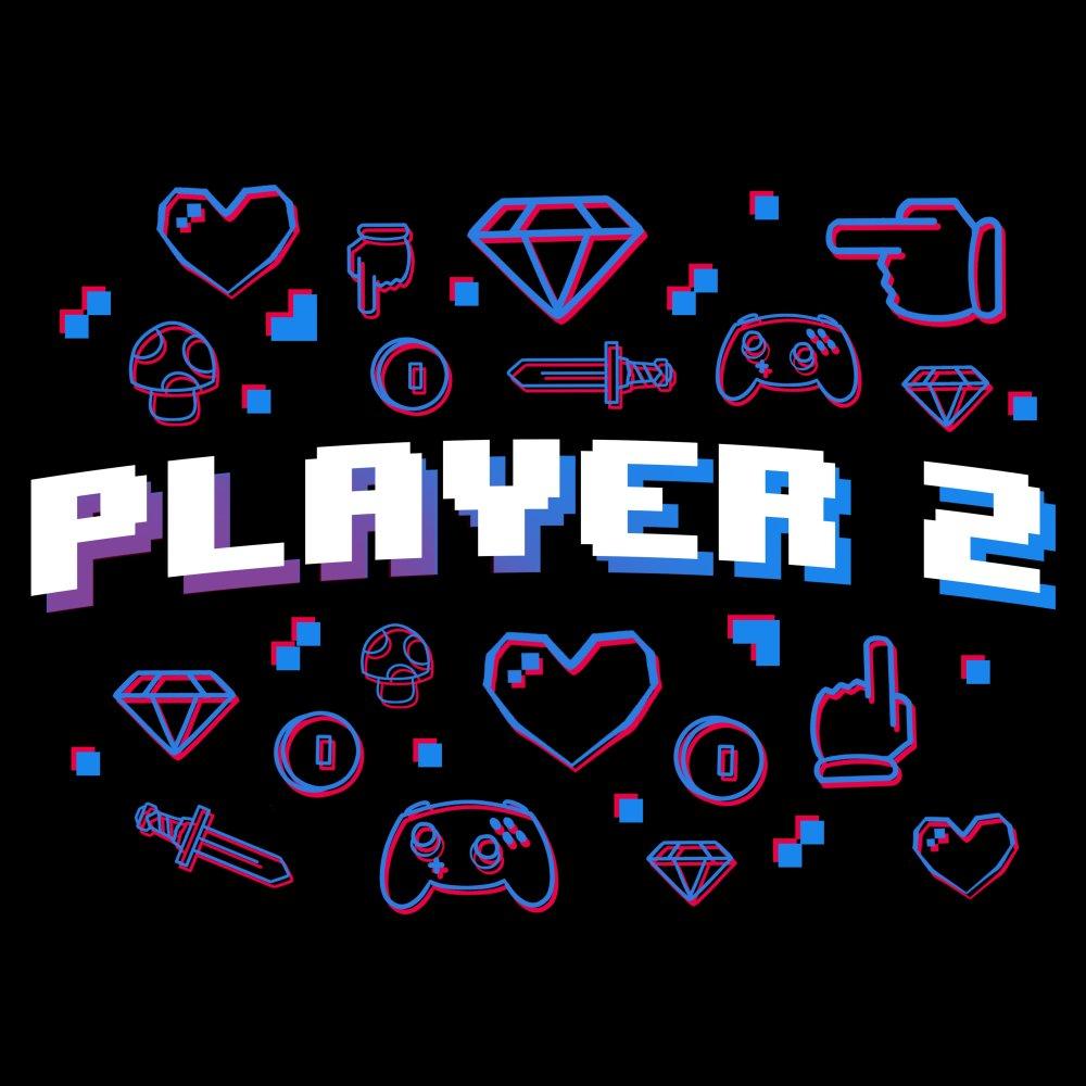 Player 2 | Funny, cute & nerdy shirts