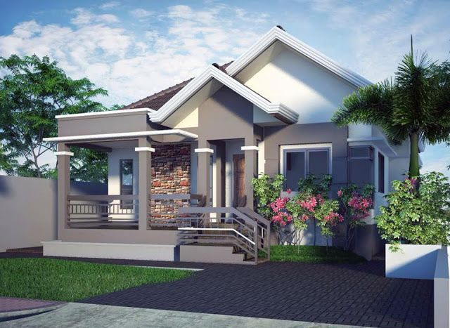 20 SMALL BEAUTIFUL BUNGALOW HOUSE DESIGN IDEAS IDEAL FOR PHILIPPINES |  Future Home * | Pinterest | Bungalow House Design, Bungalow And House