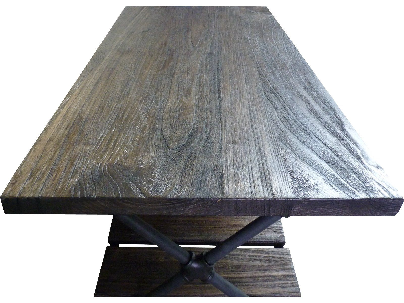 Houston Industrial Chic Coffee Table top straight Furniture