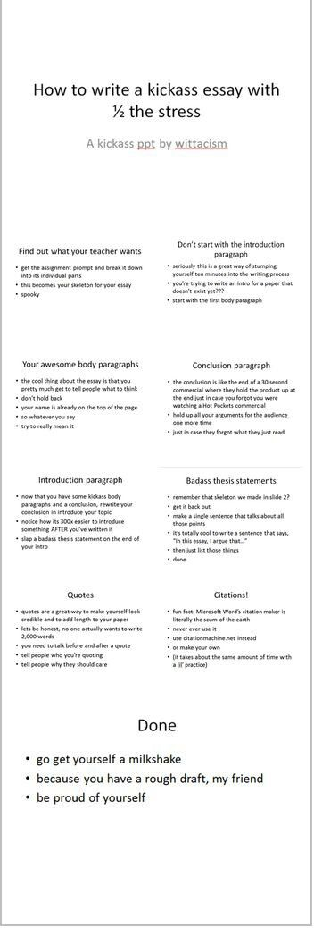 How to write an essay Tidbits Pinterest School, College and - school essay