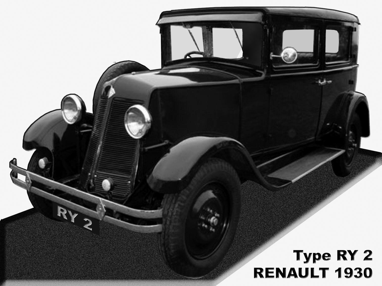 1930 Renault RY (Monasix) Veteranbilar