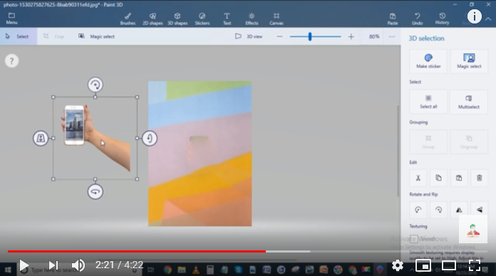 How To Make A Picture Transparent In Paint Make Pictures Painting Transparent