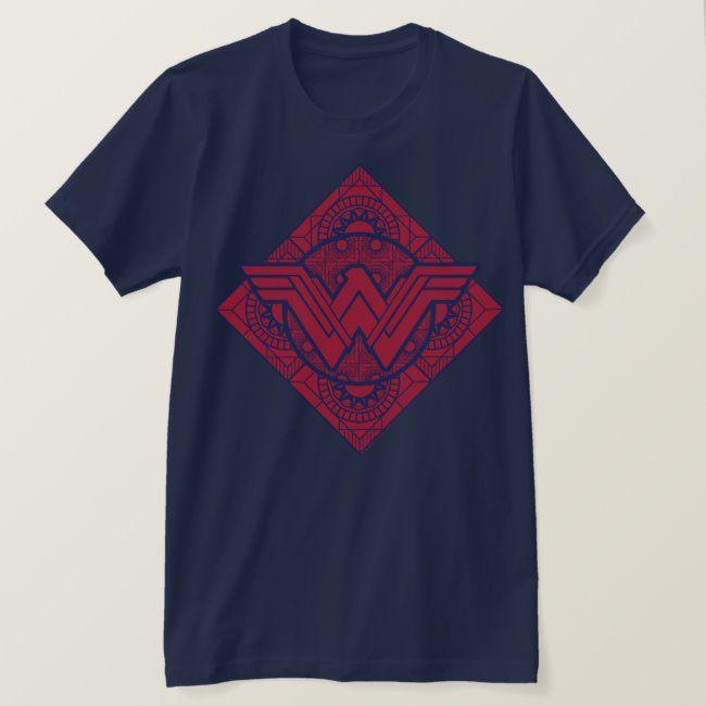 Wonder Woman Amazonian Symbol T-Shirt #Sponsored , #sponsored, #Symbol, #Shirt, #created, #Shop, #Woman