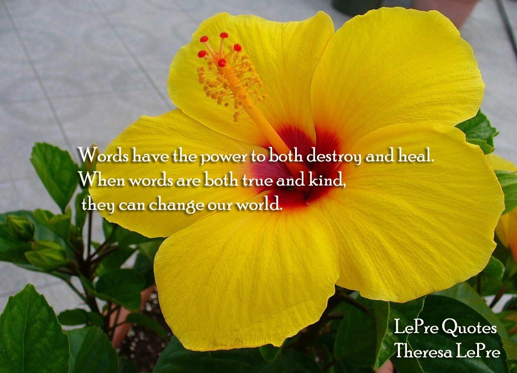 Lepre S Inspirational Quote Beautiful Flowers Pictures Hibiscus Flowers Beautiful Flowers Wallpapers
