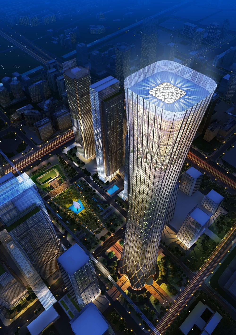 China Zun (CITIC Plaza) by TFP Farrells, Beijing, China