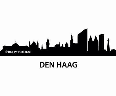 Muurstickers Den Haag.Skyline Den Haag Xl Den Haag Skyline En Muurstickers