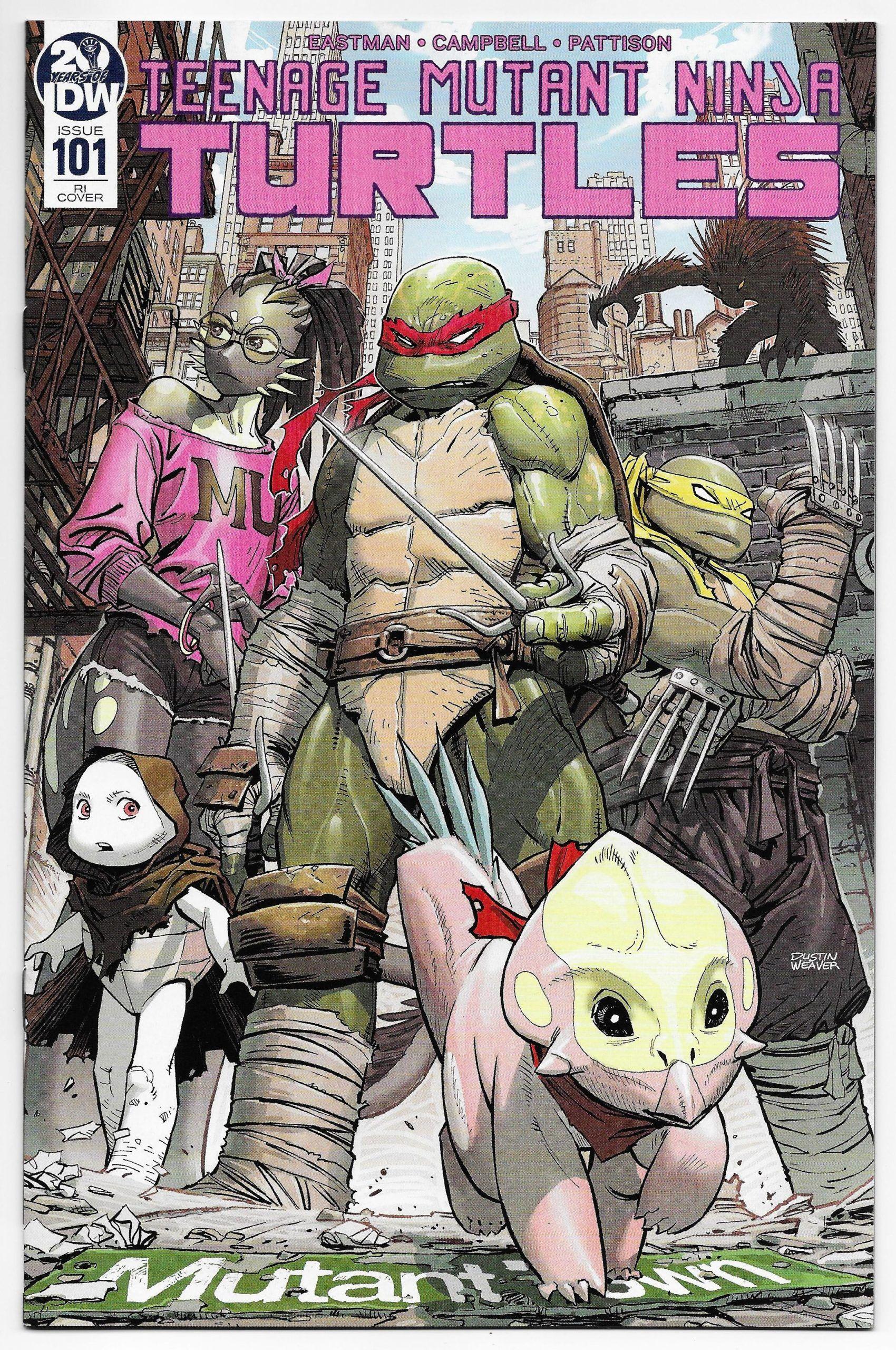 Tmnt Teenage Mutant Ninja Turtles 101 Weaver 1 10 Variant Idw 2020 Nm In 2020 Teenage Mutant Ninja Turtles Teenage Mutant Teenage Mutant Ninja
