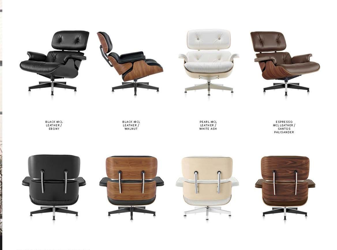 Charles Eames Lounge Chair The Authentic Eames Lounge Chair Comes In Many Colors And Many Premium Woods! @hermanmiller