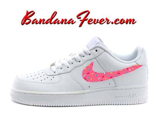 Nike Pink Donut Sprinkles Air Force 1 Men's