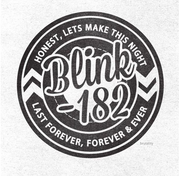 First Date Blink 182 Blink 182 Lyrics Blink 182 Band Logos