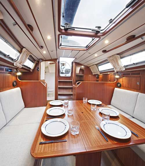 Boat Interior Restoration | Hallberg Rassy In The Lead In Yet Another  Category