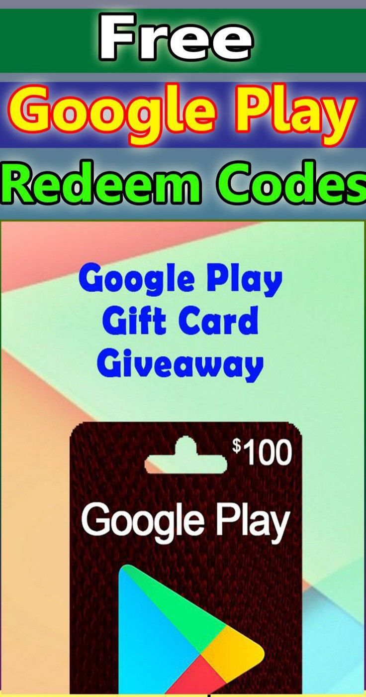 Free google play gift card giveaway in 2020 google play