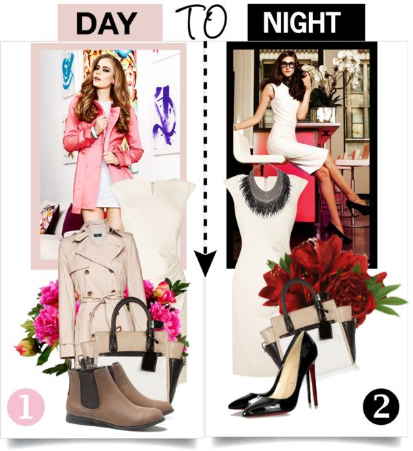 """Day to Night"" by piquica ❤ liked on Polyvore"