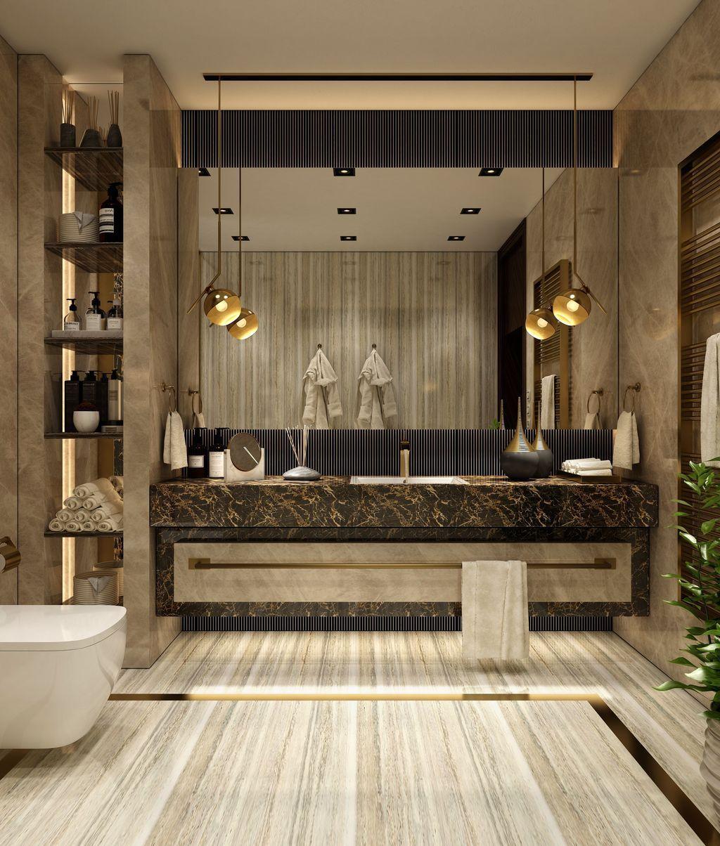 35 Luxury Bathroom Design And Decor Ideas Magzhouse Modern Luxury Bathroom Bathroom Inspiration Modern Bathroom Remodel Cost