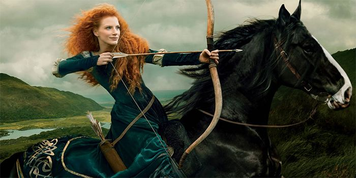 Disney-Themed Celebrity Portraits By Annie Leibovitz