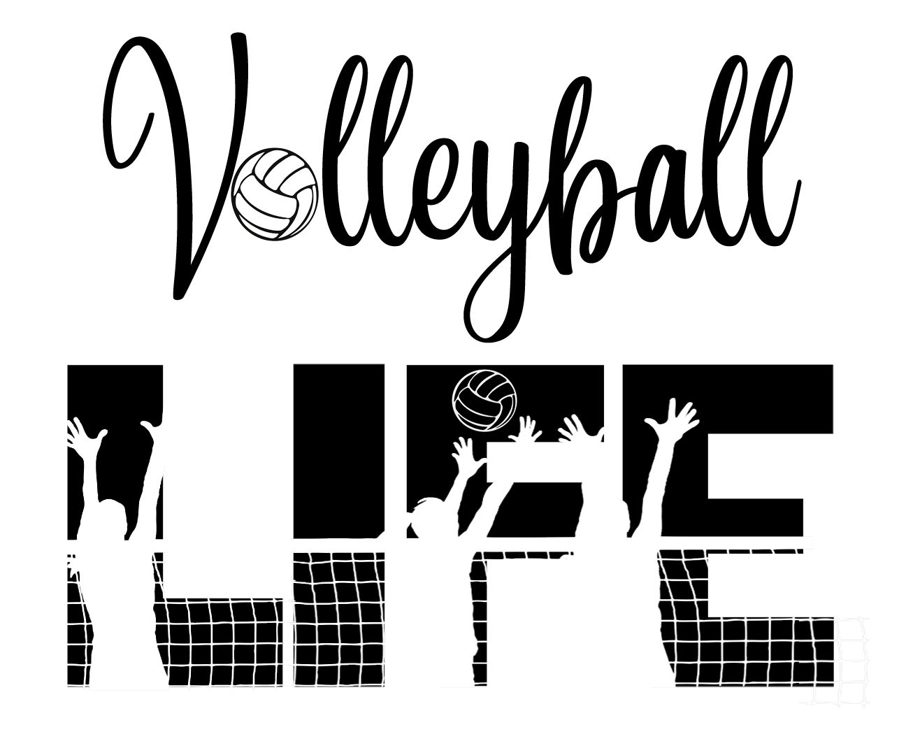 Free Volleyball Life Svg File In 2020 Cricut Volleyball Cricut Svg Files Free