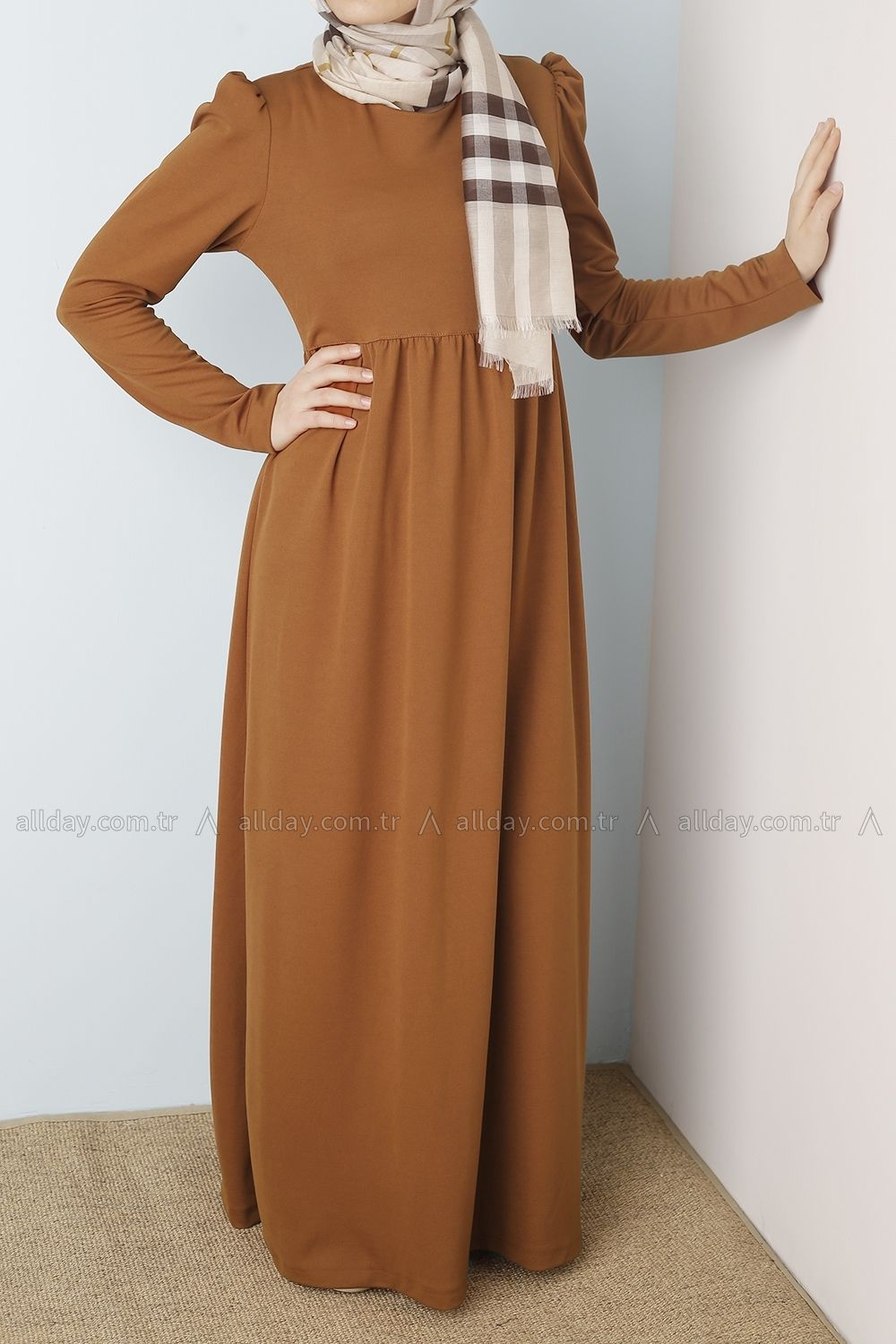 New trend hijab fashion maxi dress from allday turkish fashion hijab outfit pinterest Hijab fashion trends style turkish