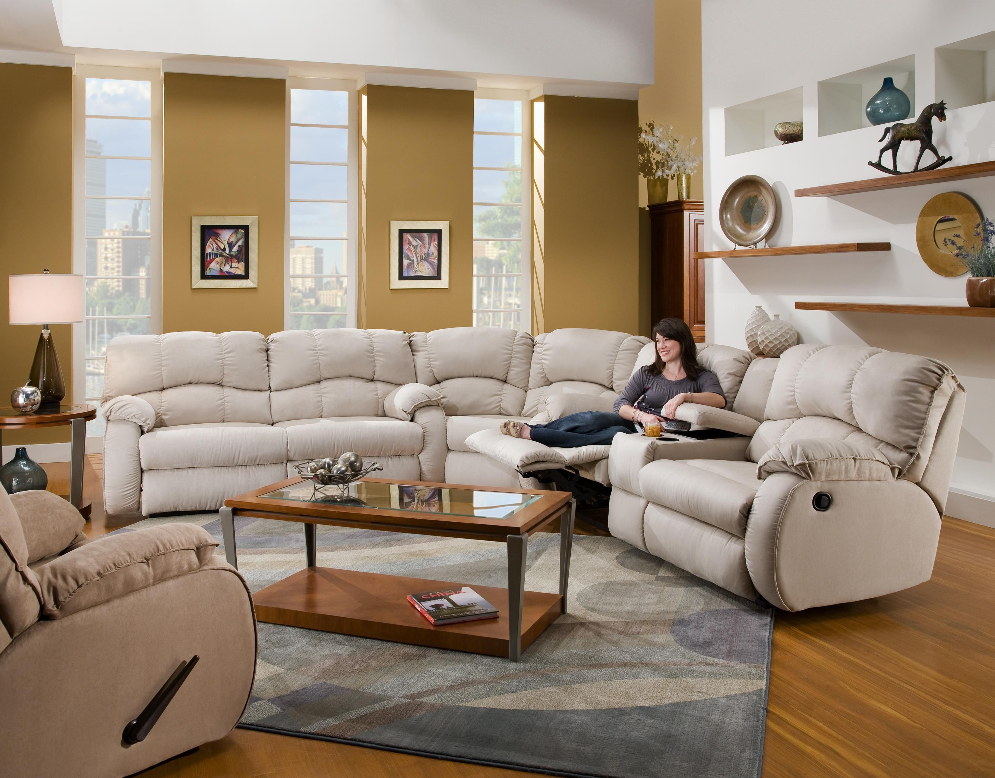 southern furniture hudson sofa alden leather power reclining reviews fusion 3 piece sectional by motion