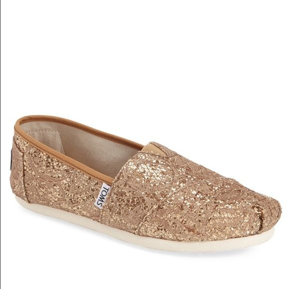 Sparkly toms, Bridesmaid shoes