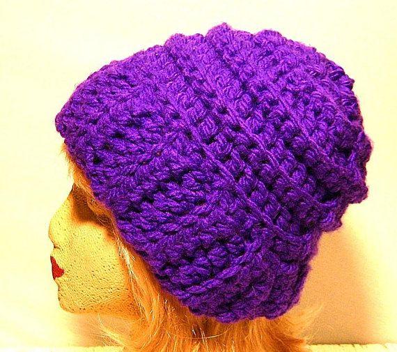 ddf03f77020 Womens Crocheted winter beanie