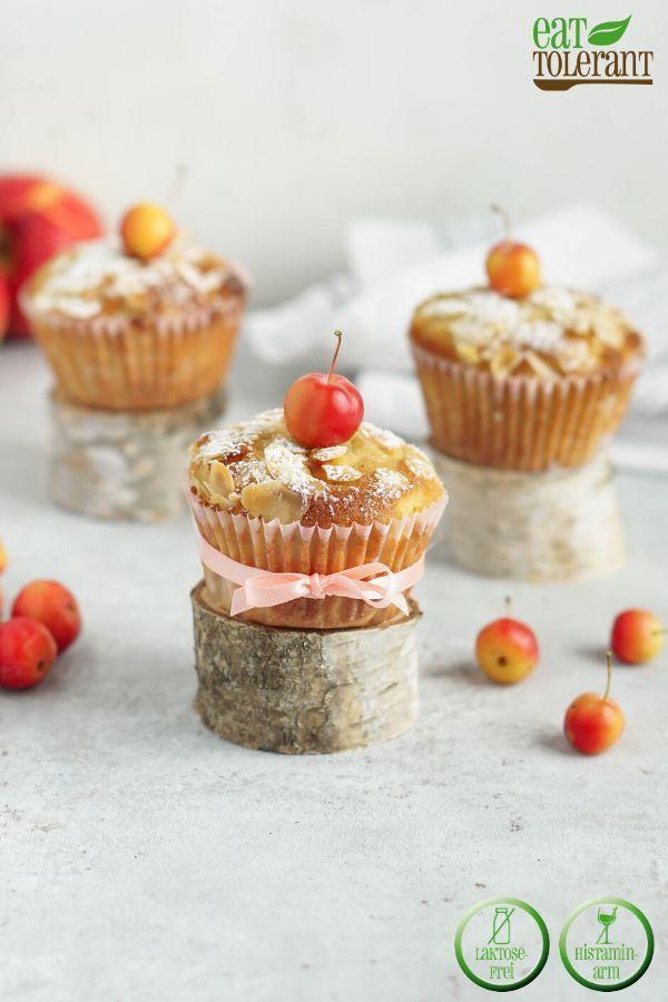 Saftige Apfel Muffins mit Zimt