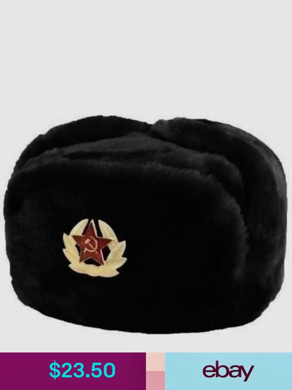 Russia Hats Ebay Clothing Shoes Accessories Winter Fur Hat Hats Ushanka