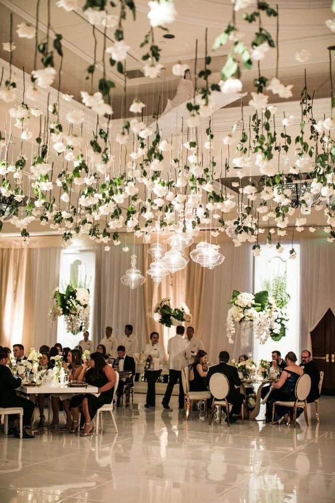 Hochzeitsdecke, Hochzeitsempfang