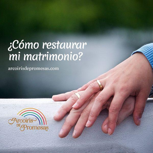 Dios sí restaura matrimonios