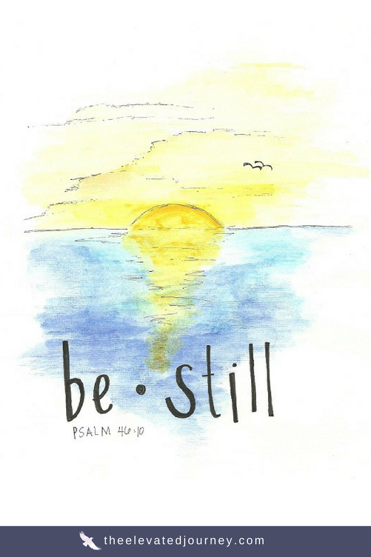 Psalm 46:10 Be Still | Christian Wall Art Printable From Original ...