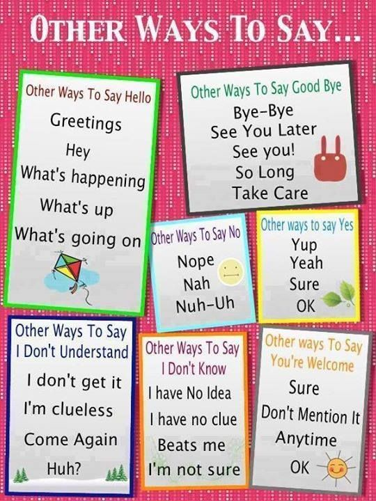 interesting ways of saying hello