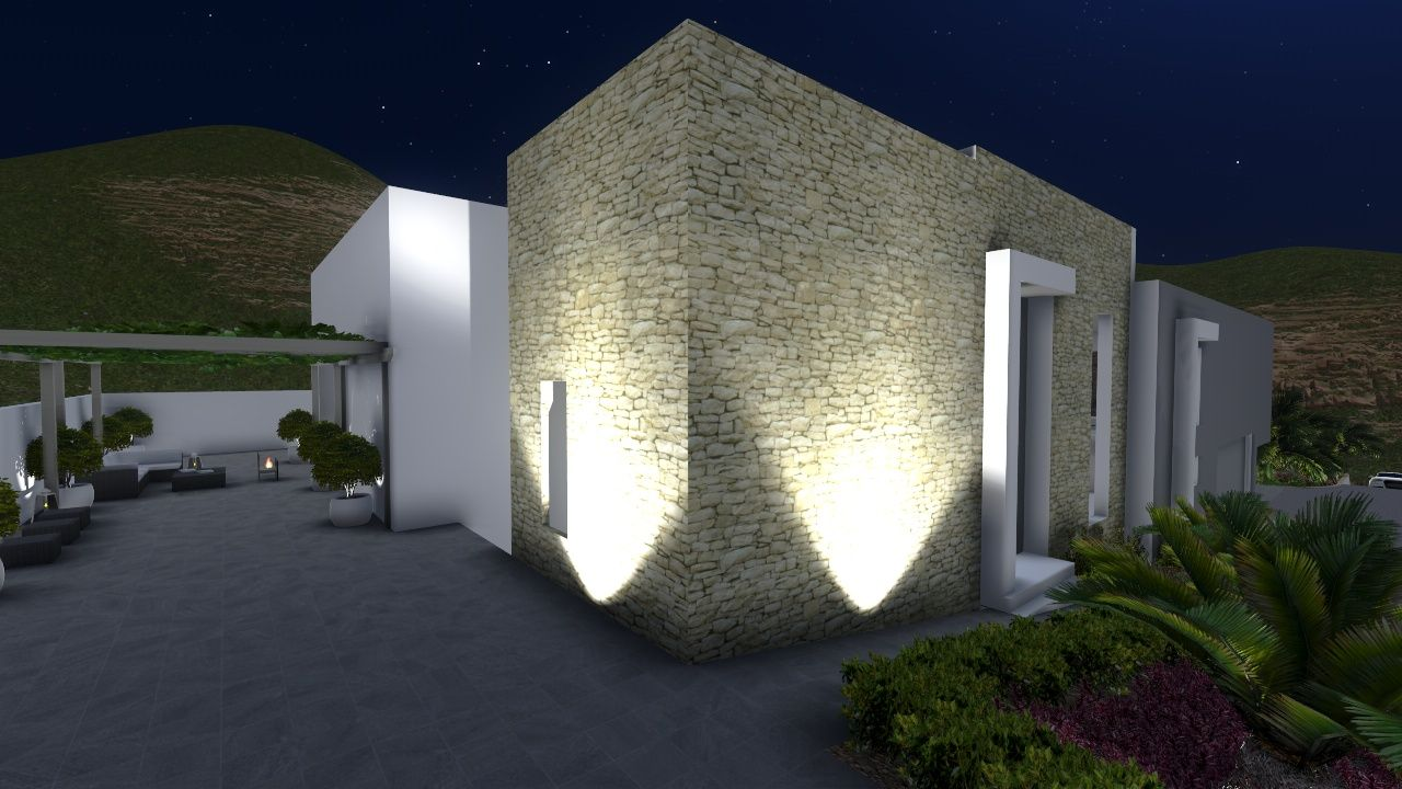 Iluminacion jardin buscar con google zahra allel Iluminacion de terrazas exteriores