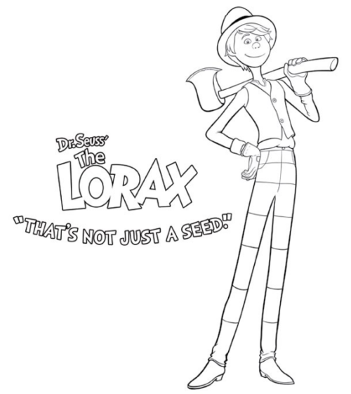 the lorax coloring pages google search