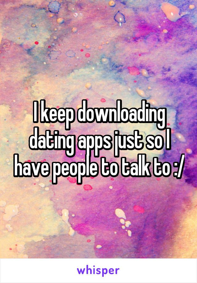 Downloadable dating apps
