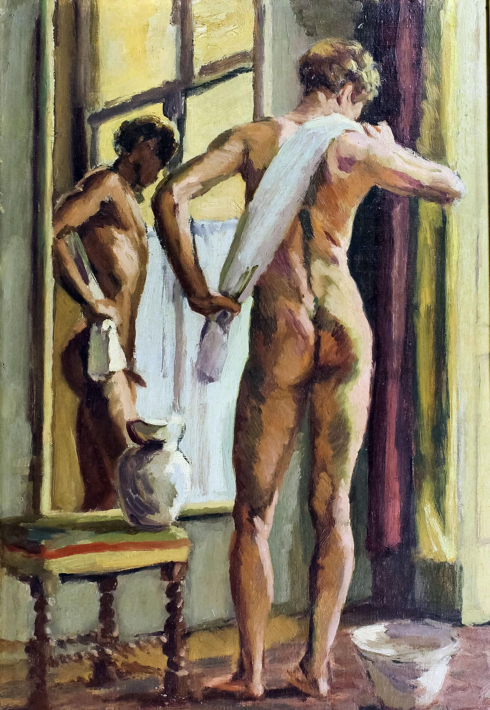 Nude men oil painting — pic 6