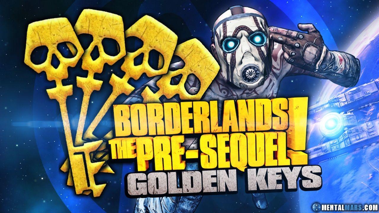 New SHiFT Codes for Borderlands the PreSequel for Golden Keys