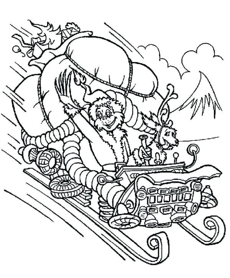 Printable Grinch Coloring Pages Ideas In 2020 Grinch Coloring Pages Free Christmas Coloring Pages Christmas Coloring Pages