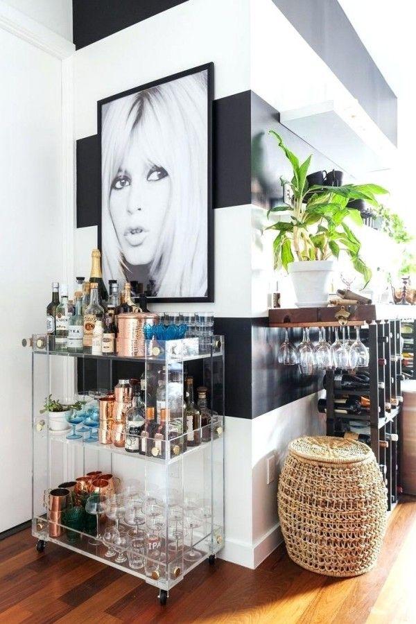 küchendeko stilvolle accessoires moderne dekoration party machen - küche mit bar