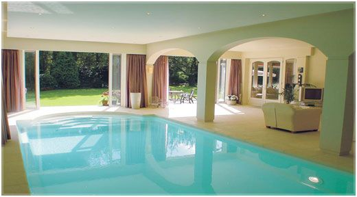 Residential Indoor Swimming Pools chlorine free swimming pool