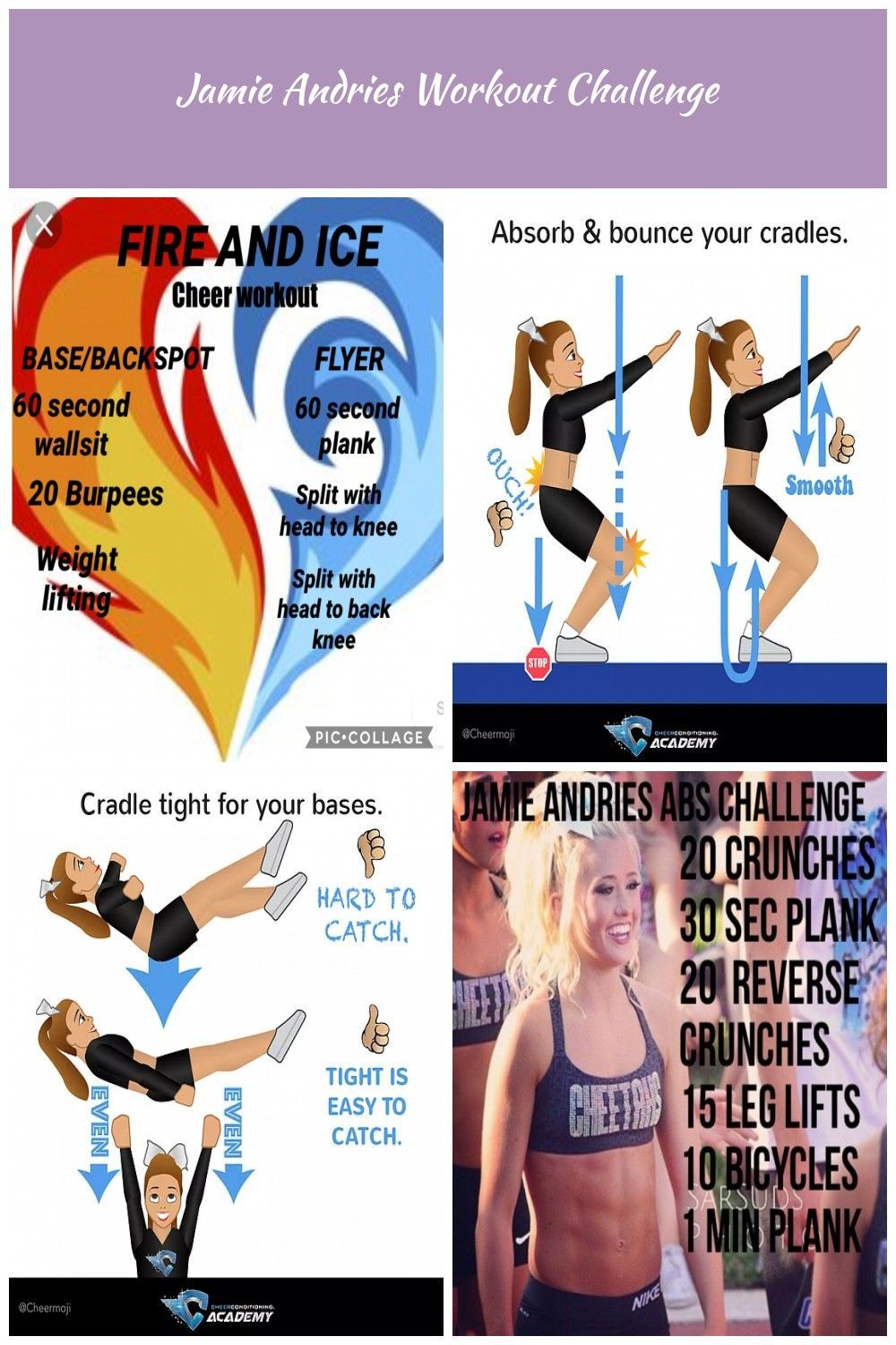 Fire and ice cheer workout lol. I made this for myself cheer Workouts #cheerworkouts Fire and ice cheer workout lol. I made this for myself cheer Workouts #cheerworkouts