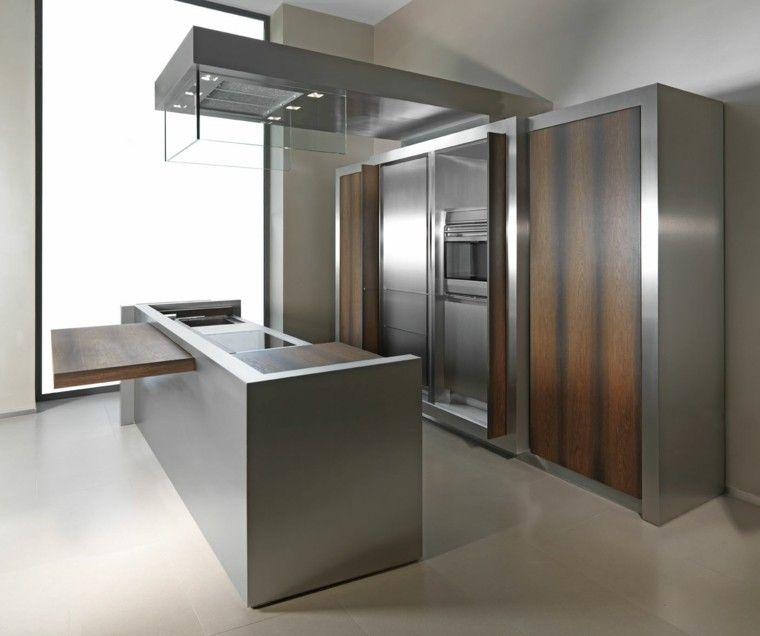 Diseño de cocinas modernas - 100 ejemplos geniales | Muebles de ...