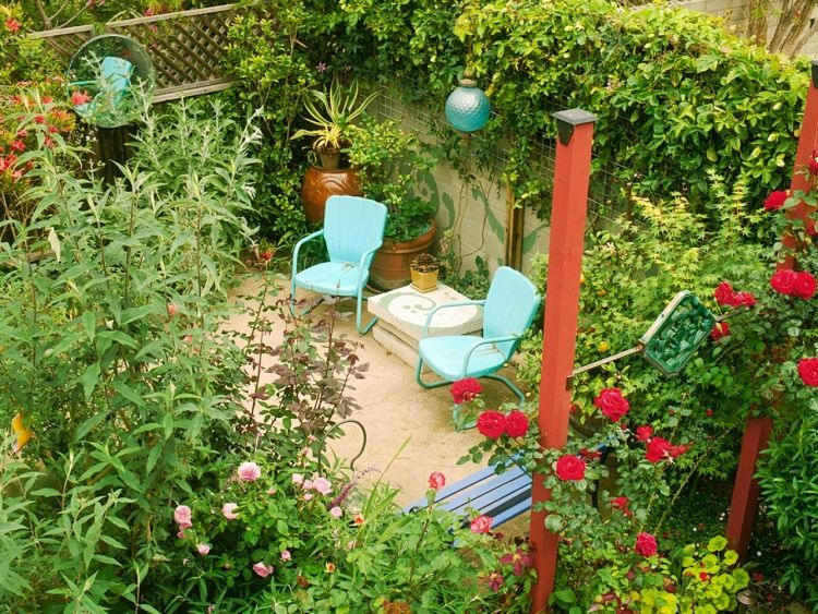 kleingarten anlegen platzsparende ideen gardenideas pinterest garten garten gestalten. Black Bedroom Furniture Sets. Home Design Ideas
