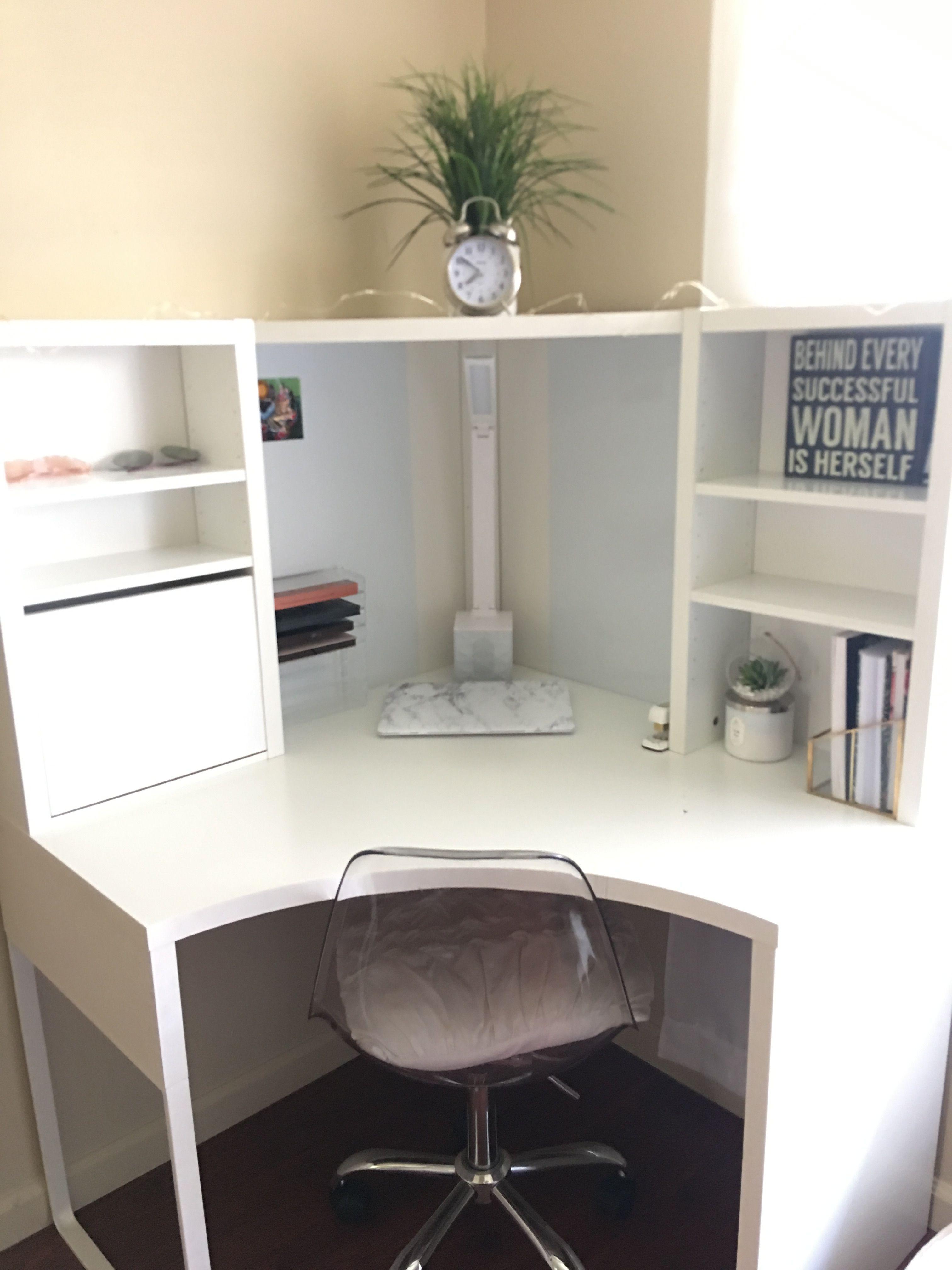 Mickey Corner Desk From Ikea Desk Ikea Desk Corner Workstation