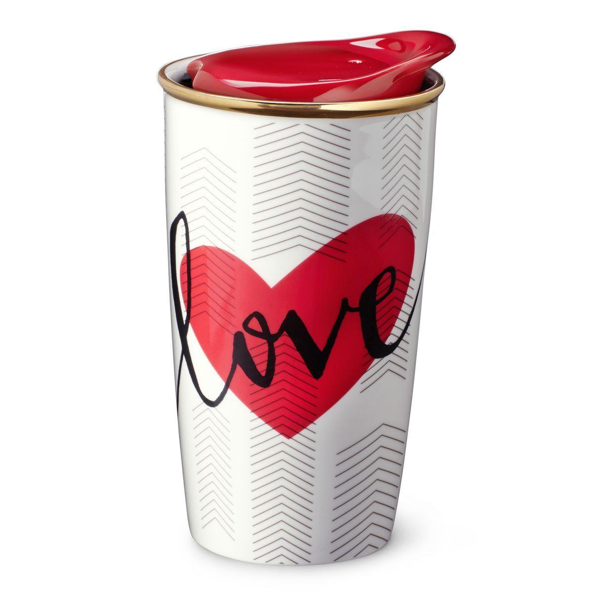 Außergewöhnlich Starbucks Valentineu0027s Day Double Wall Traveler Mug 10 Fl Oz