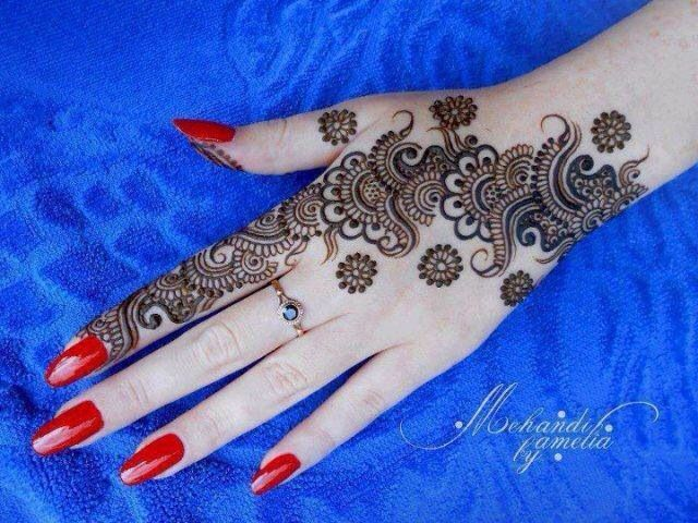 Mehndi For Thin Hands : Mehndi love how thin and detailed the is mehandi