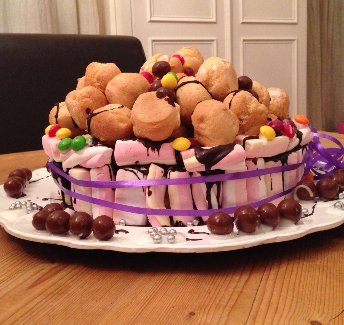Iets Nieuws Soesjestaart Traktatie school groep 3/4/5 Jongen 7 jaar   Cakes @TM39