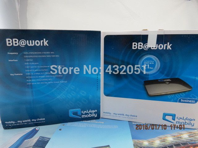 Mobily Wi Fi 4G Mobile Router Unlocked
