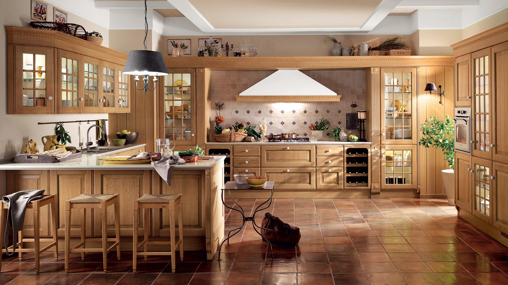 cucina in muratura - Cerca con Google | office | Pinterest | Kitchen ...
