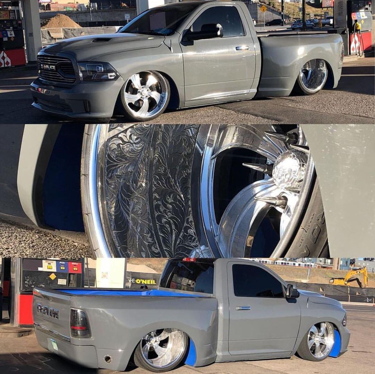 Pin by Junior on Dropped RAM'S Lowered trucks, Dodge