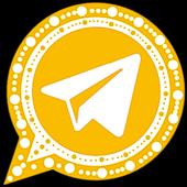 تنزيل تليجرام الذهبي نسخة مطوره بمواصفات قوية Tech Company Logos Telegram Logo Company Logo